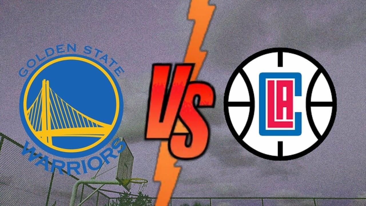 WARRIORS VS CLIPPERS!! NBA 2K20 - YouTube