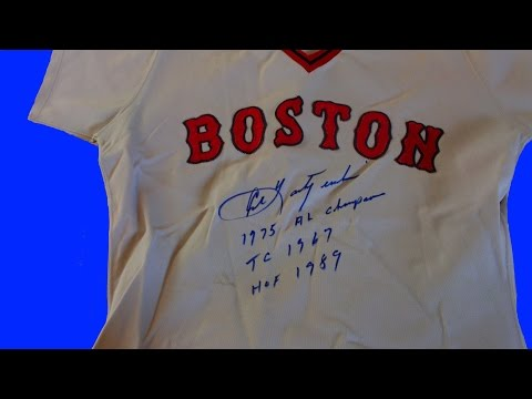 1975 Carl Yastrzemski Game Worn Jersey