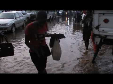 Kampala and rain not friends!