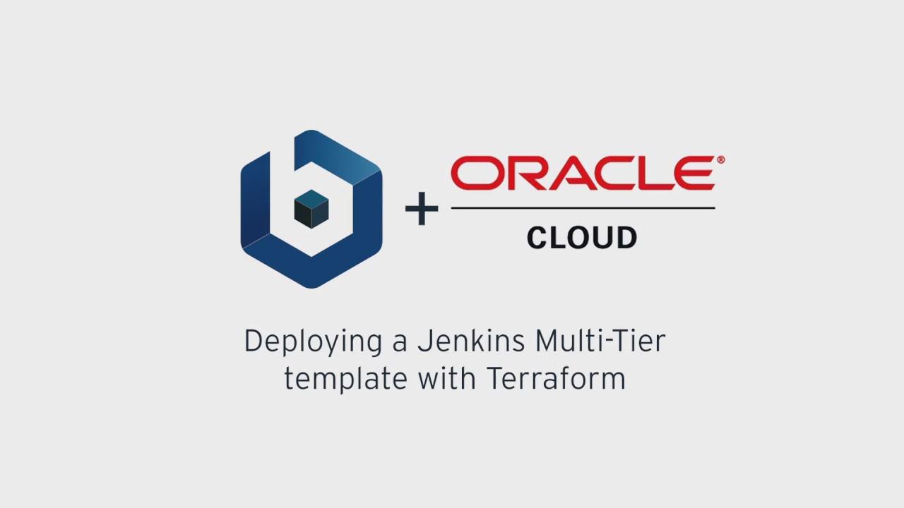 Deploy a Jenkins Multi-Tier template with Terraform