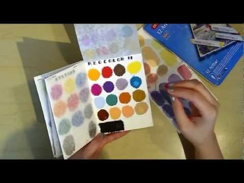 Watersoluable Travel Palette Book Tutorial