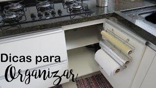 Como organizar despensa e armários de cozinha  com acessórios, Camila Camargo
