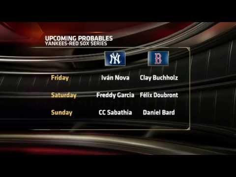 MLB: Yankees at Red Sox on ESPN America preview