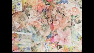 DIY WAX PAPER NAPKINS FOR EMBOSSING, DIE CUTTING & STITCHING