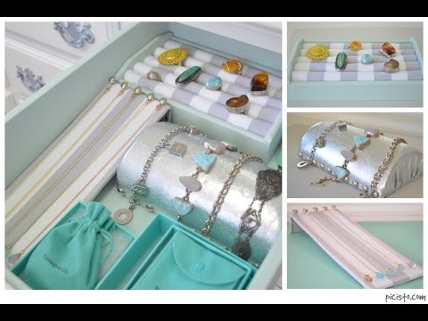 Diy Jewelry Organizers Youtube