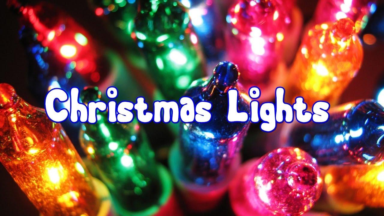 the history of christmas lights youtube