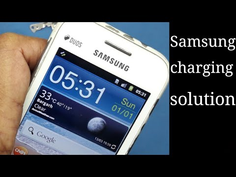 Samsung Gt S 6802 Charging Solution Battery Error Symbol Youtube