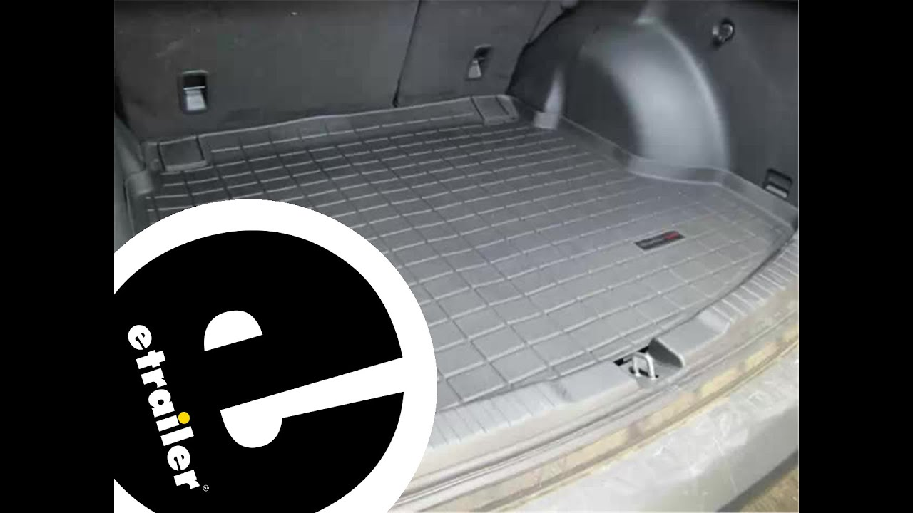 Weathertech floor mats rav4 2012 - Review Of The Weathertech Cargo Floor Liner On A 2012 Honda Cr V Etrailer Com