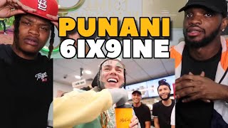 6IX9INE- PUNANI (Official Music Video) REACTION