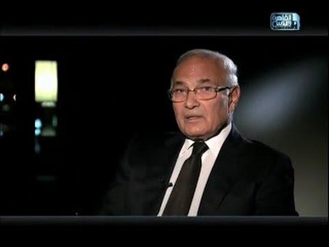 Ahmed Shafik interview 111-Apr-2013. لقاء الفريق أحمد شفيق في القاهرة والناس