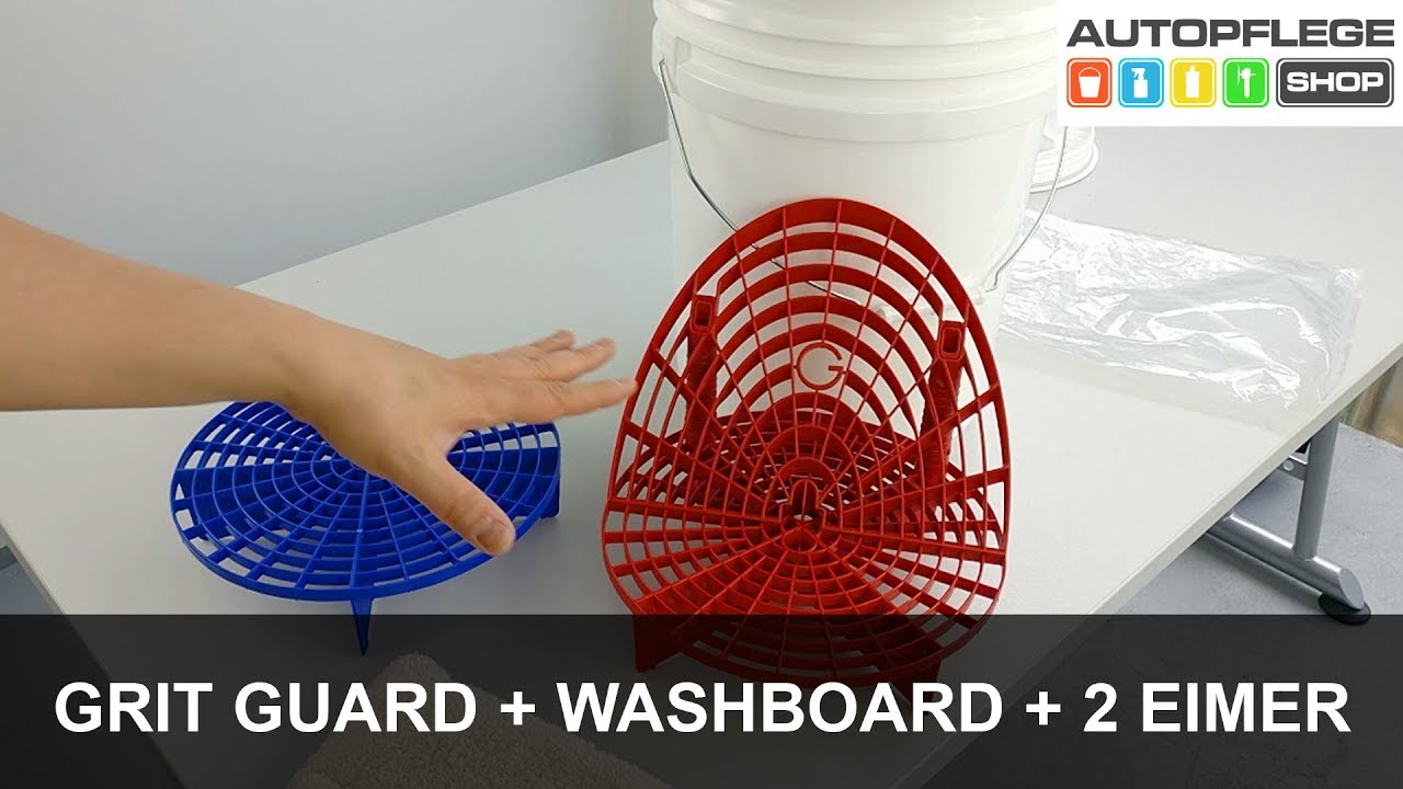 grit guard grit guard washboard im 2 eimer system. Black Bedroom Furniture Sets. Home Design Ideas