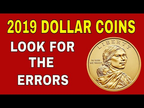 Look for the errors on new 2019 Native American dollar coin