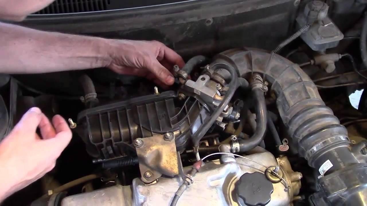 Высокие холостые обороты на инжекторном двигателе