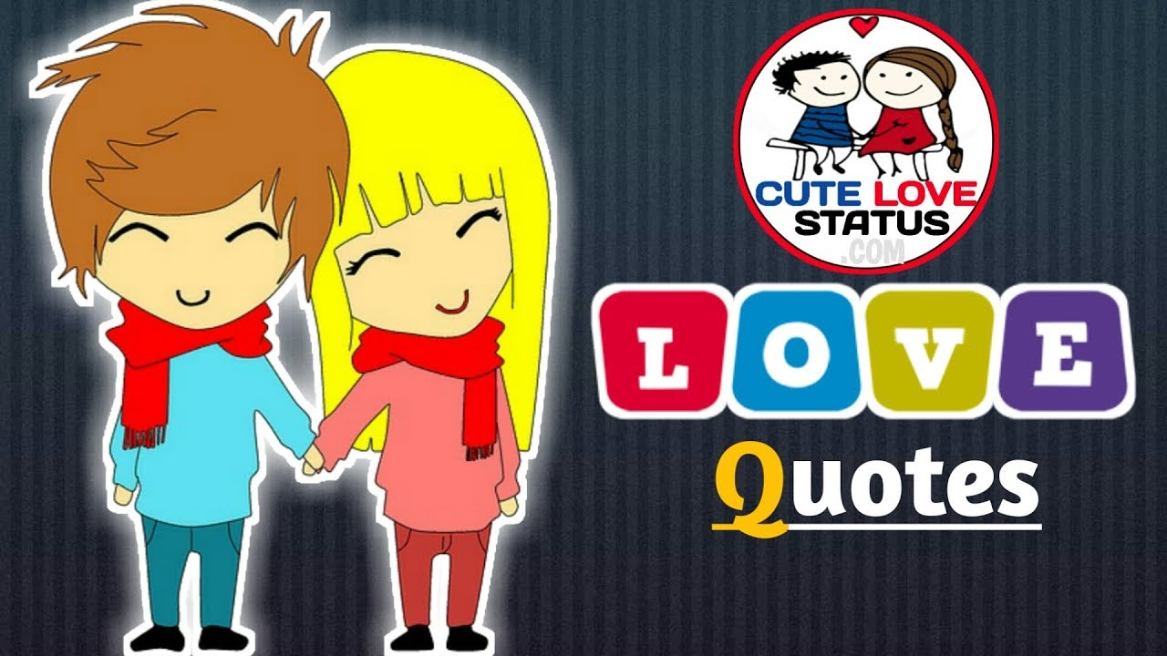 Love Quotes Hindi Cute Love Status Youtube