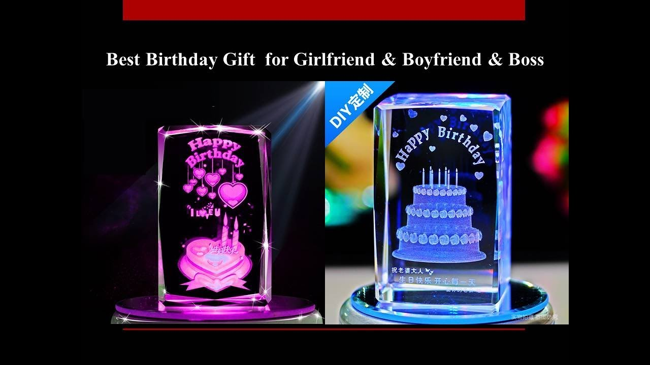 Best Birthday Gift Ideas For Girlfriend Boyfriend Friends Boss