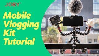 JOBY GorillaPod Mobile Vlogging Kit Tutorial screenshot 5