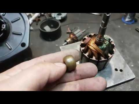 Ремонт изношенного вала мотора отопителя