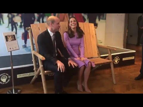 Duke & Duchess Of Cambridge Have Fun At First Global Ministerial Mental Health Summit 2018