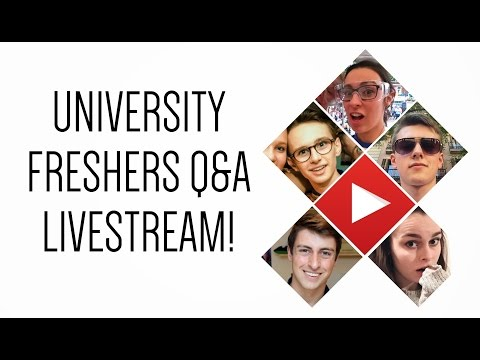 Live university Q&A with student YouTubers!