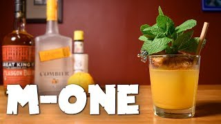 M-One - A 007 Tiki Drink Made with Scotch Whisky &amp Tangerine Juice