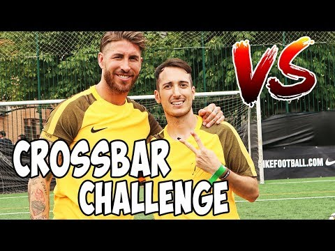 CROSSBAR CHALLENGE CON SERGIO RAMOS !!!! (ilvostrocaroDexter) Dexter vs Ramos