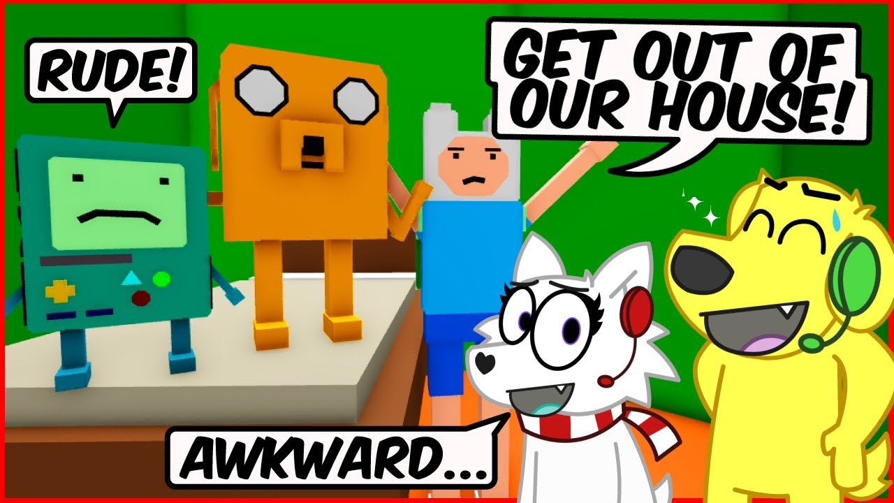 Download We're in ADVENTURE TIME! Roblox KITTY Chapter 13 with SuperDog Tyler!
