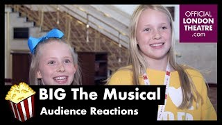 BIG The Musical - Audience Reactions