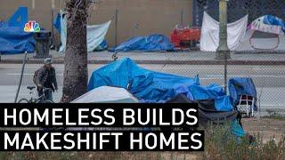 Homeless Community Builds Makeshift Homes in High Desert | NBCLA