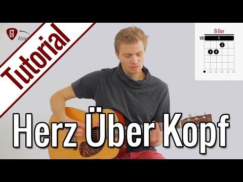 Joris - Herz über Kopf | Gitarren Tutorial Deutsch