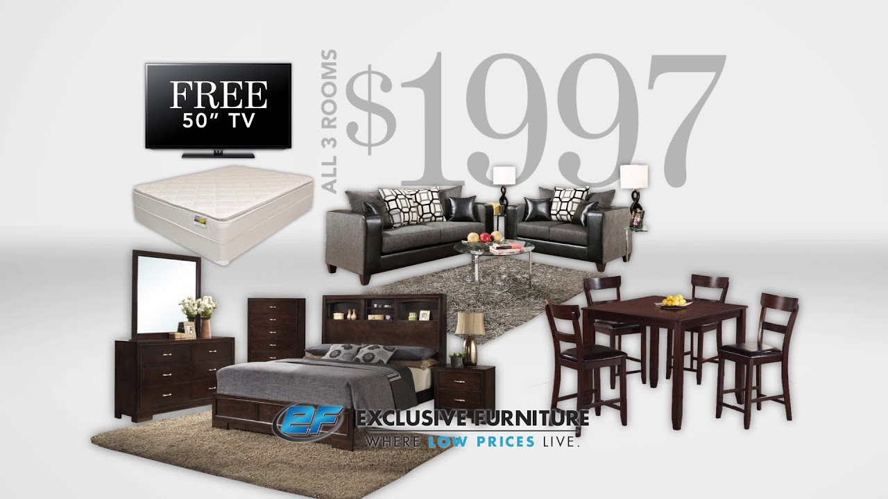Exclusive Furniture Store Houston - YouTube