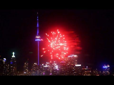 Canada Day Fireworks Livestream Toronto Canada! July 1st, 2019 (previously Streamed)