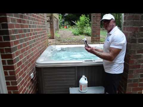 DIY - How to clean your spa/ hot tub at home