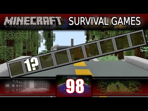 Minecraft - Survival Games - ONLY 1 SLOT CHALLENGE! (Minecraft PVP)