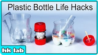 Super Simple Plastic Bottle Life Hacks by HooplaKidzLab