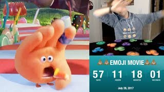 Counting down to The Emoji Movie while spinning 15 fidget spinners and dabbing every 60 seconds thumbnail
