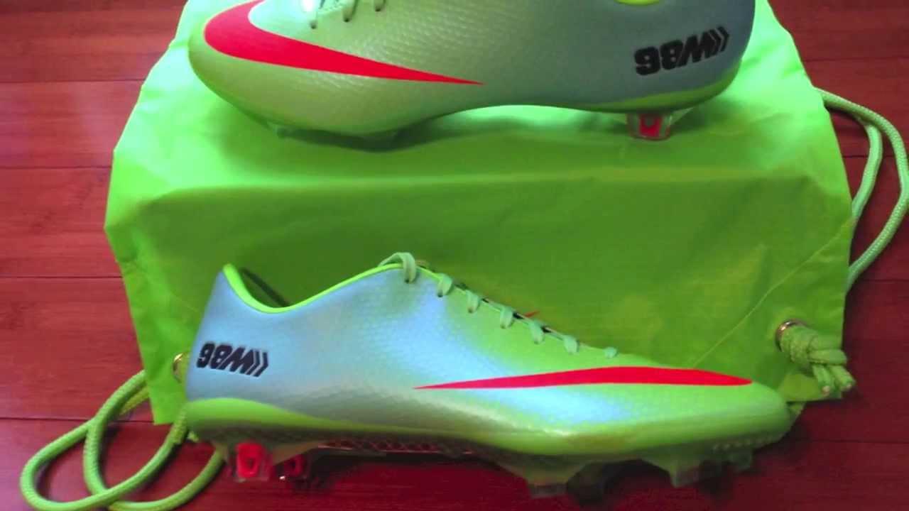 premium selection 705eb 7bde2 Nike Mercurial Vapor IX FG Neo Lime/Crimson Unboxing Video - YouTube