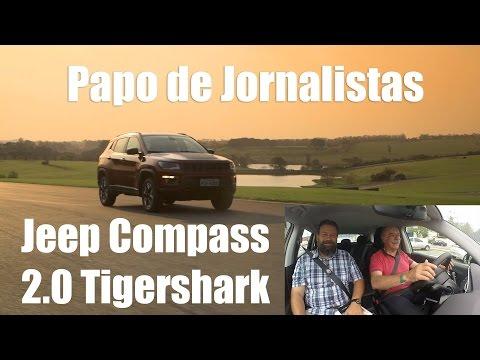 Papo de Jornalistas a bordo do Jeep Compass 2.0 Flex