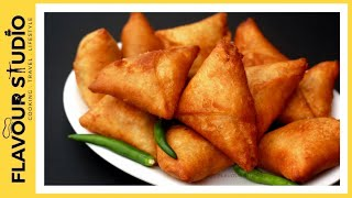 Street style aloo samosa recipe | snacks