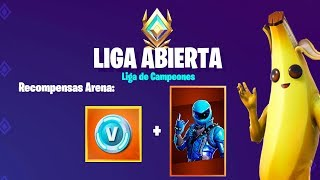 I arrive at *CHAMPIONS LEAGUE* + Skin Honor CODES!! | Fortnite Battle Royale Arena