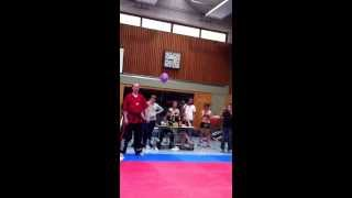 FlyingUwe Vs. René Perz Deutsche Meisterschaft im Kickboxen