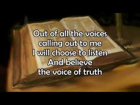 Voice Of Truth  Casting Crowns  Lyric  HD