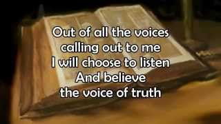 Voice Of Truth - Casting Crowns - Lyric Video HD