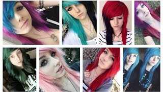 My Hair Timeline (All My Hair Colors) 2010 - 2016 | Alex Dorame