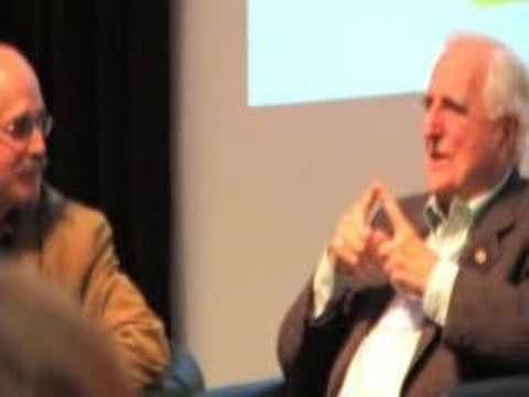 Doug Engelbart talks about career at SRI