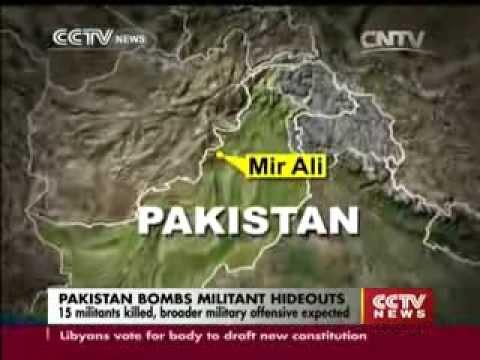 35 Killed as Paki-Punjabi Jets Bomb Pashtun Civilians in N Waziristan in Name of Militants
