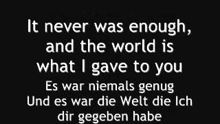 Hollywood Undead -- My Black Dahlia Lyric English/Deutsch -3%pitch