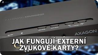 Jak fungují externí zvukové karty? - AlzaTech #618