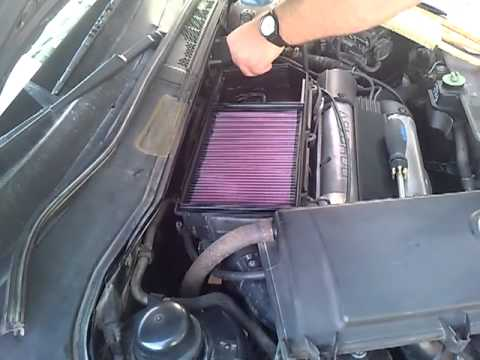 Installing K Amp N Air Filter On Vw Polo 6n 1 4 16v Afh Youtube