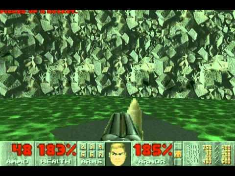 Doom II (100%) Walkthrough (Map21: Nirvana)
