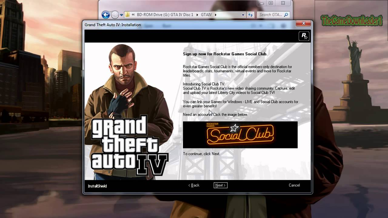 How to download and install Grand Theft Auto 4 [HD]